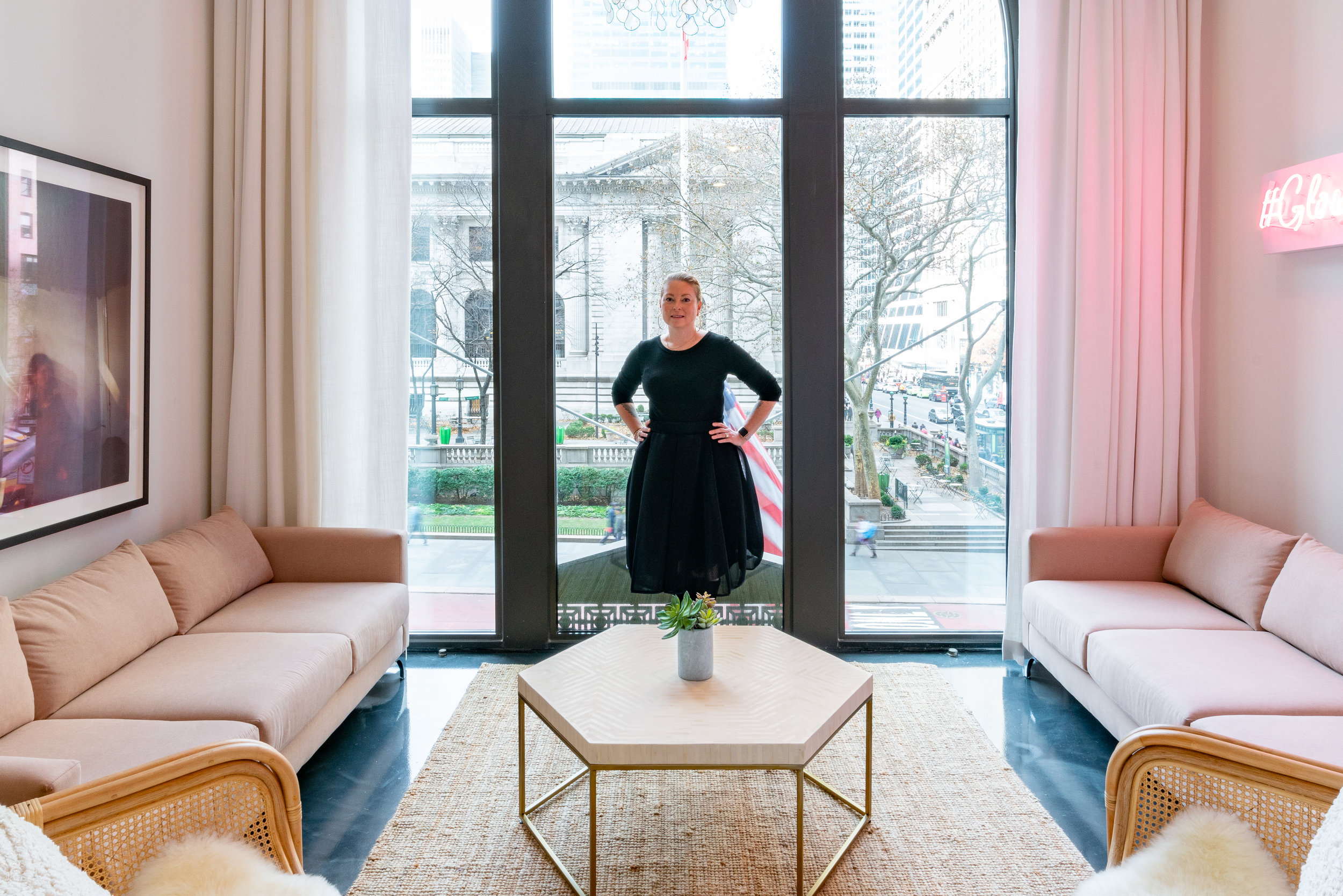 Joanna Vargas at her Fifth Avenue Spa. Photo by Jeremiah Unruh.