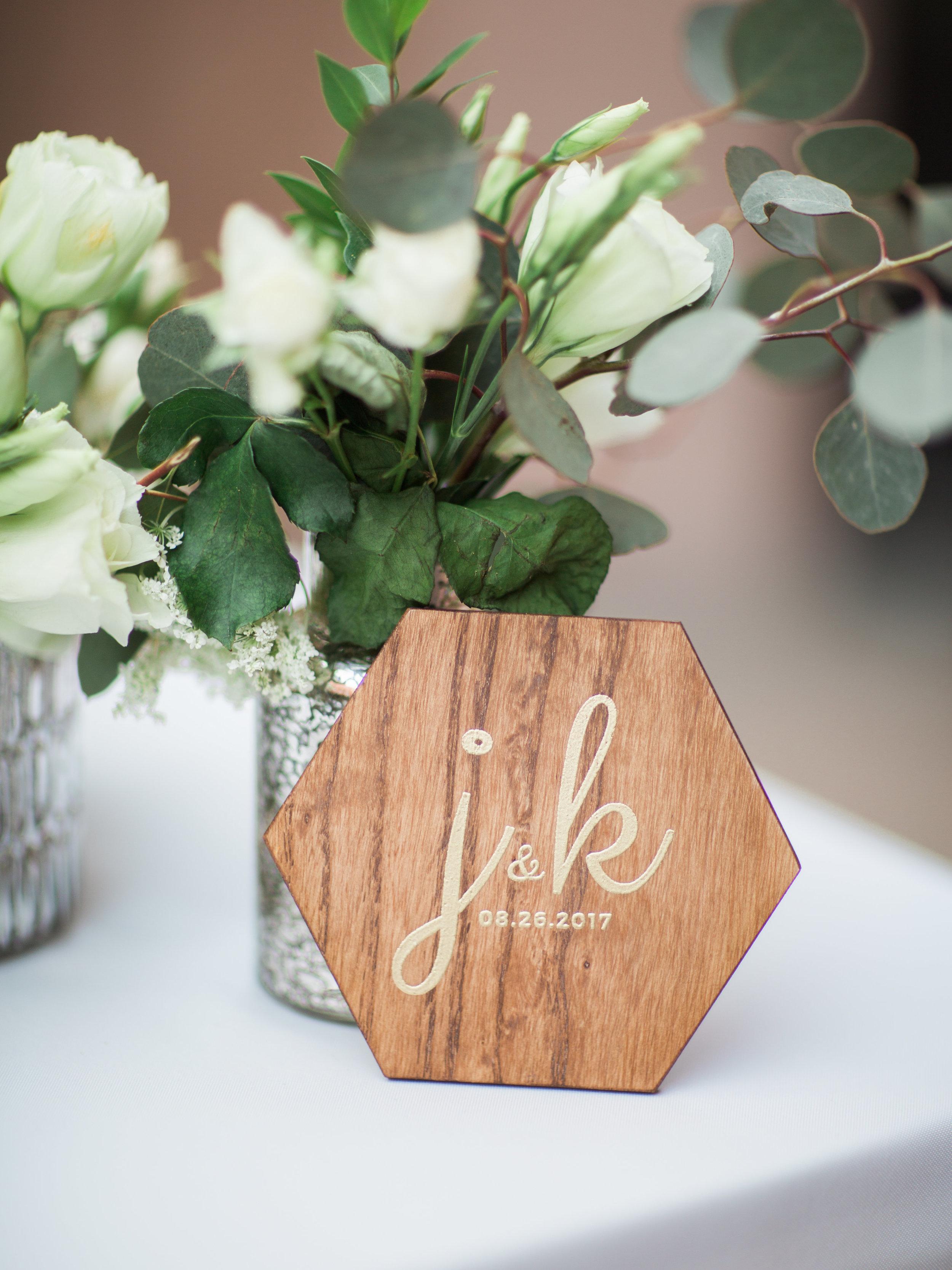 DIY Wedding Coasters