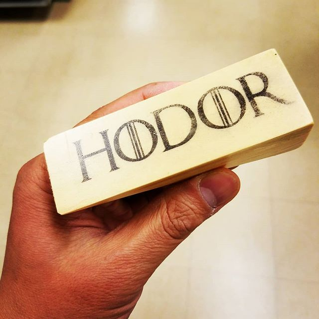 Who's ready for #gameofthrones season 8 premiere? #hodor Holding the door for some #milkofthepoppy (in case you didn't know Opium was derived from poppy seeds 🤓) . . . #diy #diys #diyideas #diyproject #doityourself #makeityourself #makeityourown #makerlife #makestuff #makersgonnamake #buildsomething #homemade #handcrafted #crafts #wood #woodworker #woodcraft #woodworking #woodworkingcommunity #hodorhodorhodor #holdthedoor