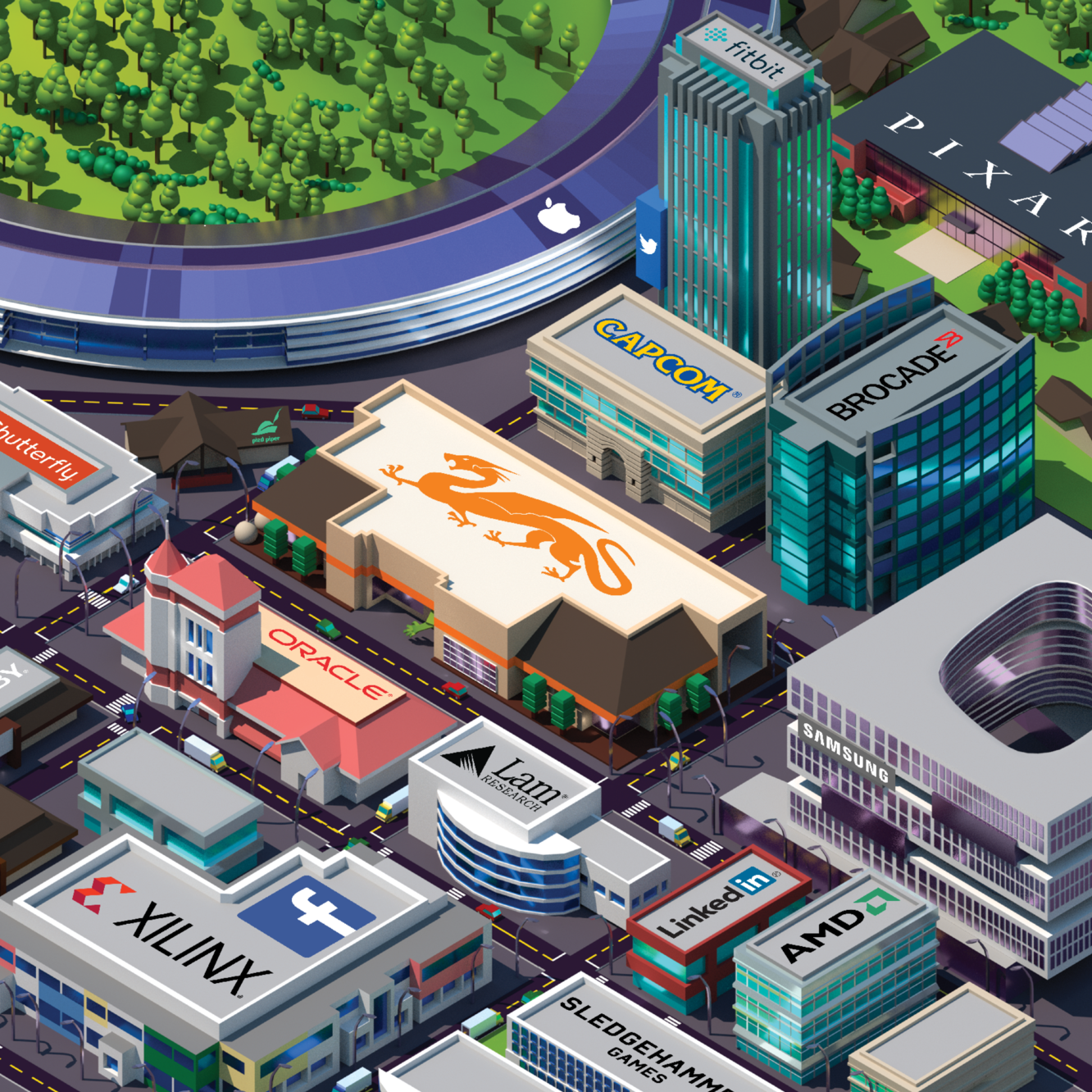Silicon Valley Graphic