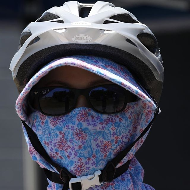 Cycling apparel for speed and protection from the strong Hawke's Bay sun. #aussietourist #ebiker #sunprotection #cyclelife #cyclestyle #headgear #verycool
