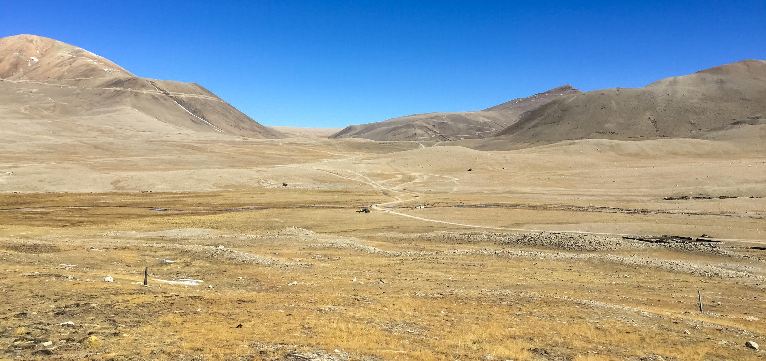 Looking toward Tibet -  Photo by Monika Agarwal