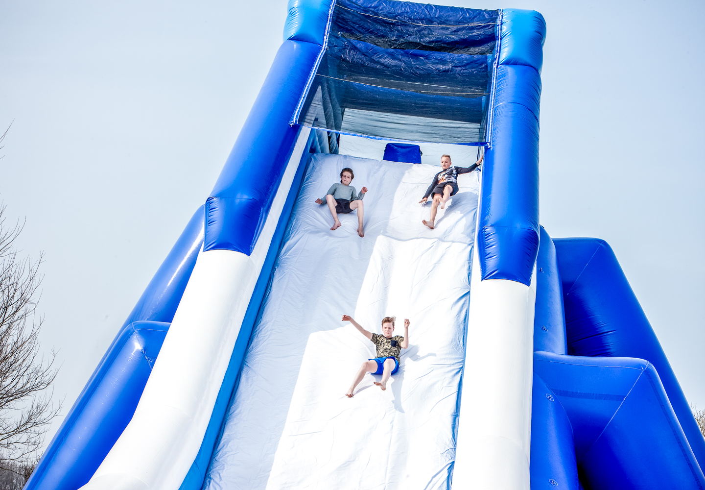 Mega Winter Slide -