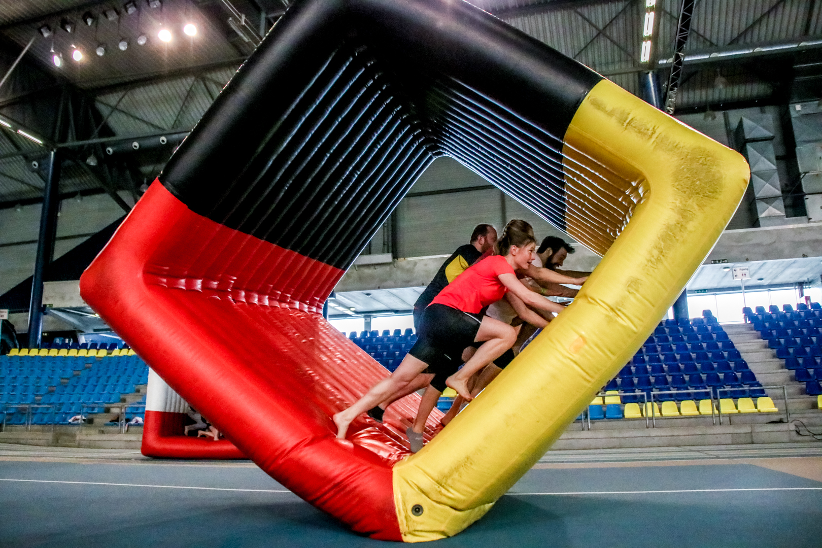 Copy of Copy of teambuilding - inflatable fun - winterproof
