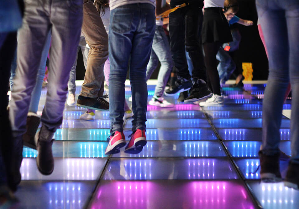 Energy Floor party -