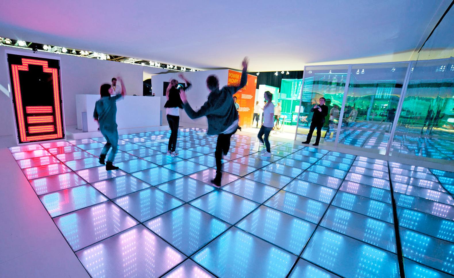 teambuilding winter - winterproof - energy floor party