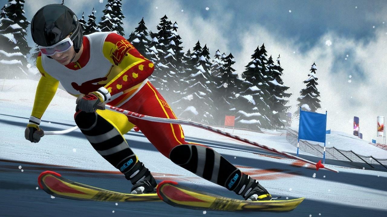 VR alpine skiing -