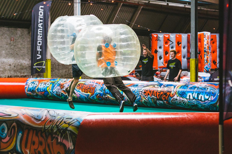 Bubble Soccer -