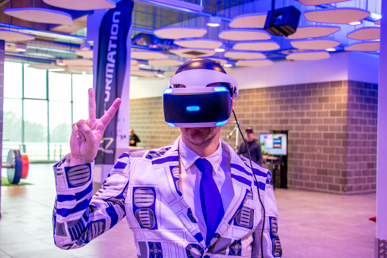 VR games -