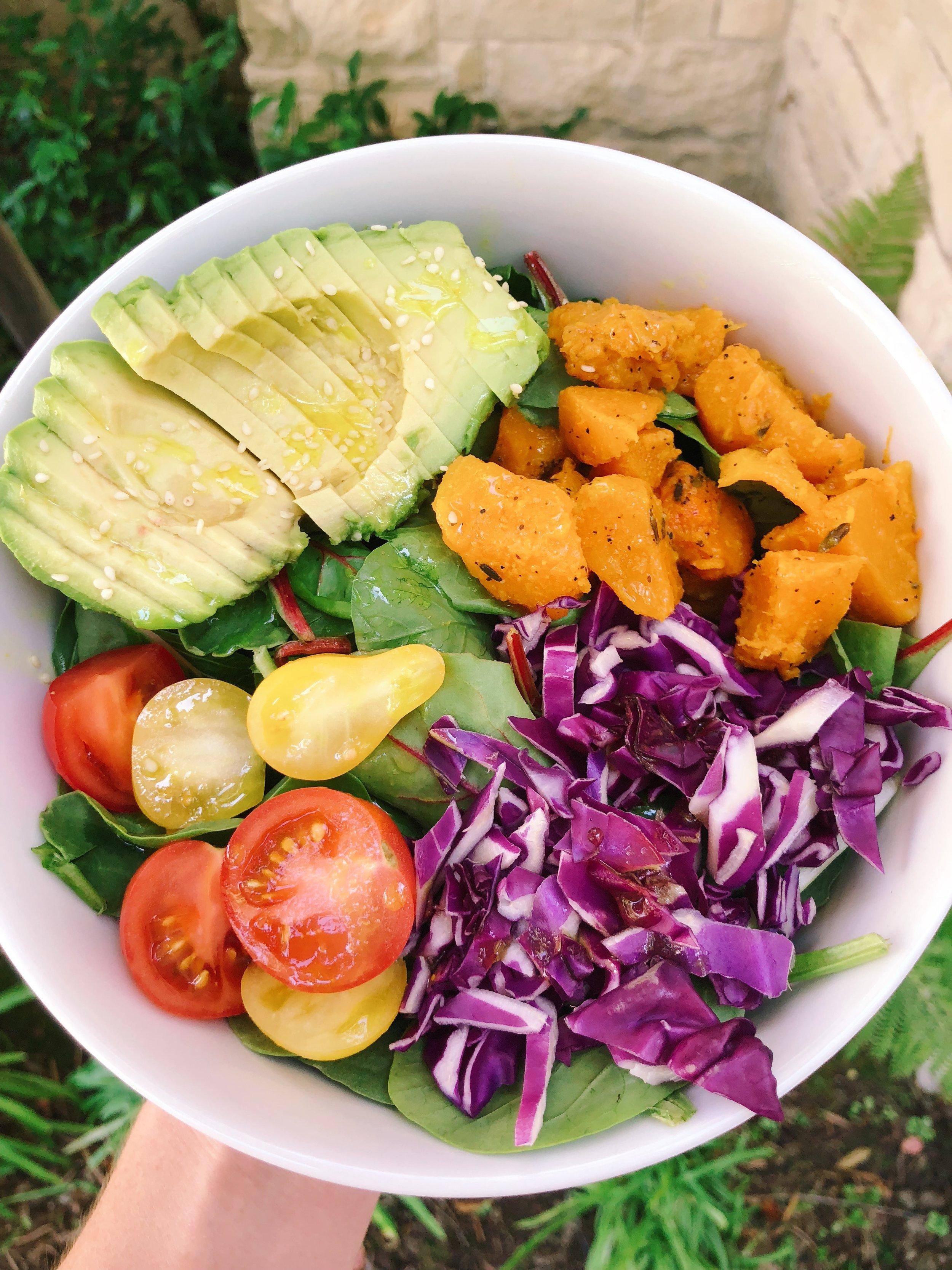 eat your fruits + veggies