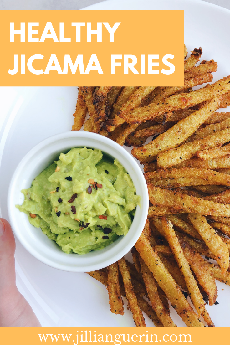 Jicama Fries - Healthy & Delicious!