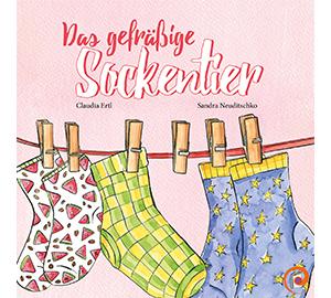 Das gefrässige Sockentier - THEMATIK: UMWELTBEWUSSTSEINSofftcover, 28 Seiten, farbig illustriertErscheinungsjahr: 2018ISBN: 978-3-200-05621-3Preis: 6,80 €