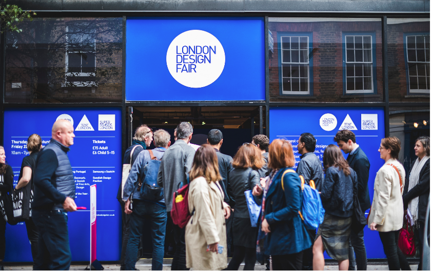 London Design Fair   19th-22nd September  Old Truman Brewery, E1 6QR  With a riotous mix of up and coming brands rubbing shoulders with international pavilions, make sure you save a day for the London Design Fair as it is jam packed full of fantastic, thought provoking design.