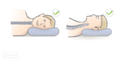 Neutral spine when sleeping for greater spinal health