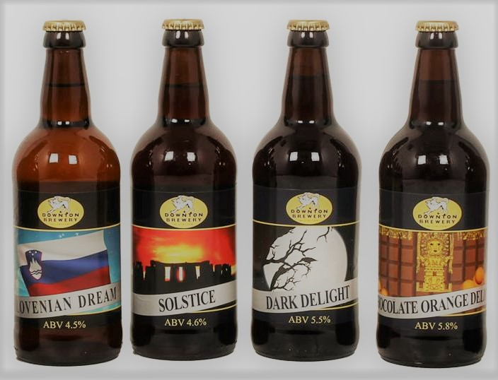 Visit Downton Brewery's Website >