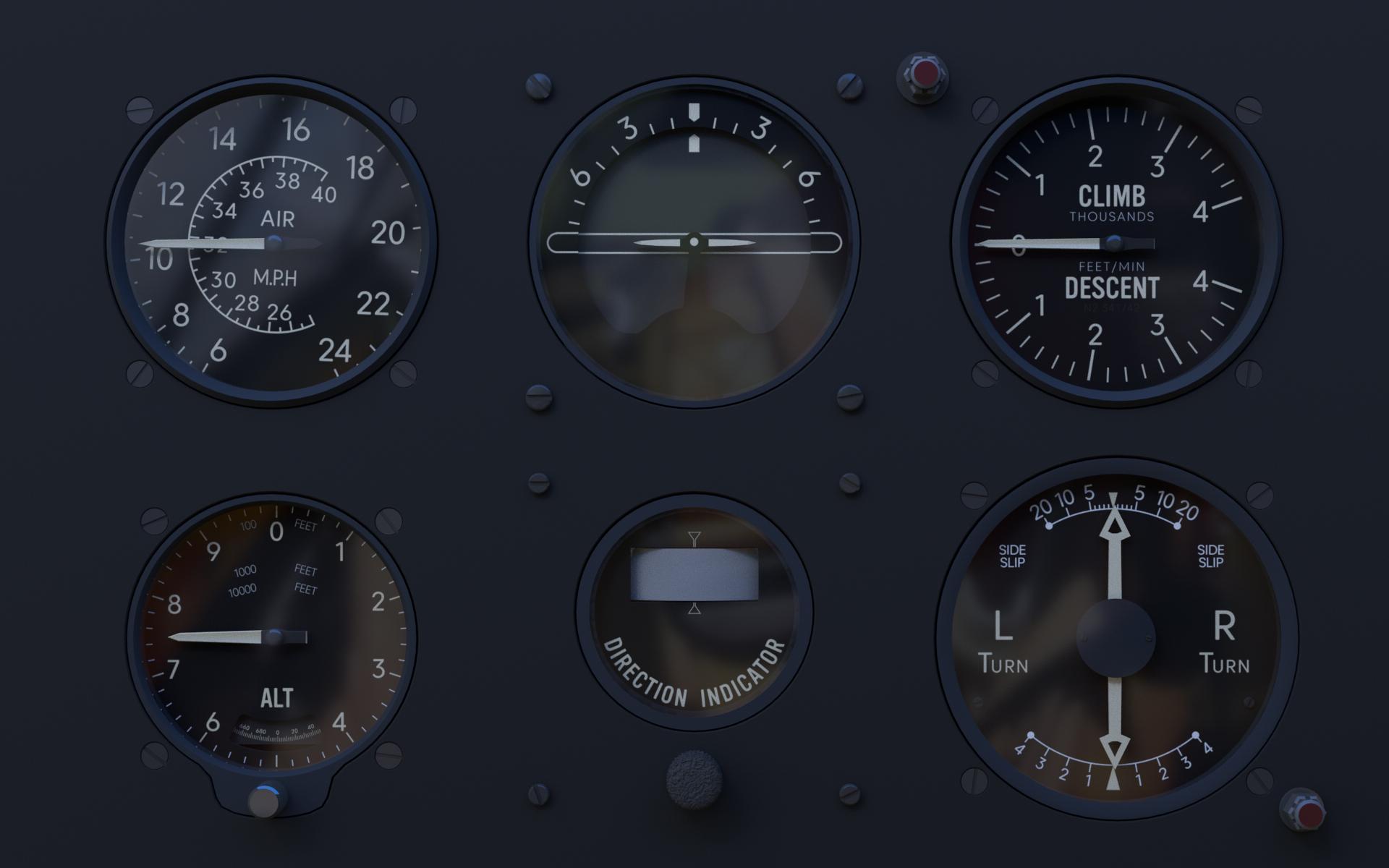 CG Cockpit Dials