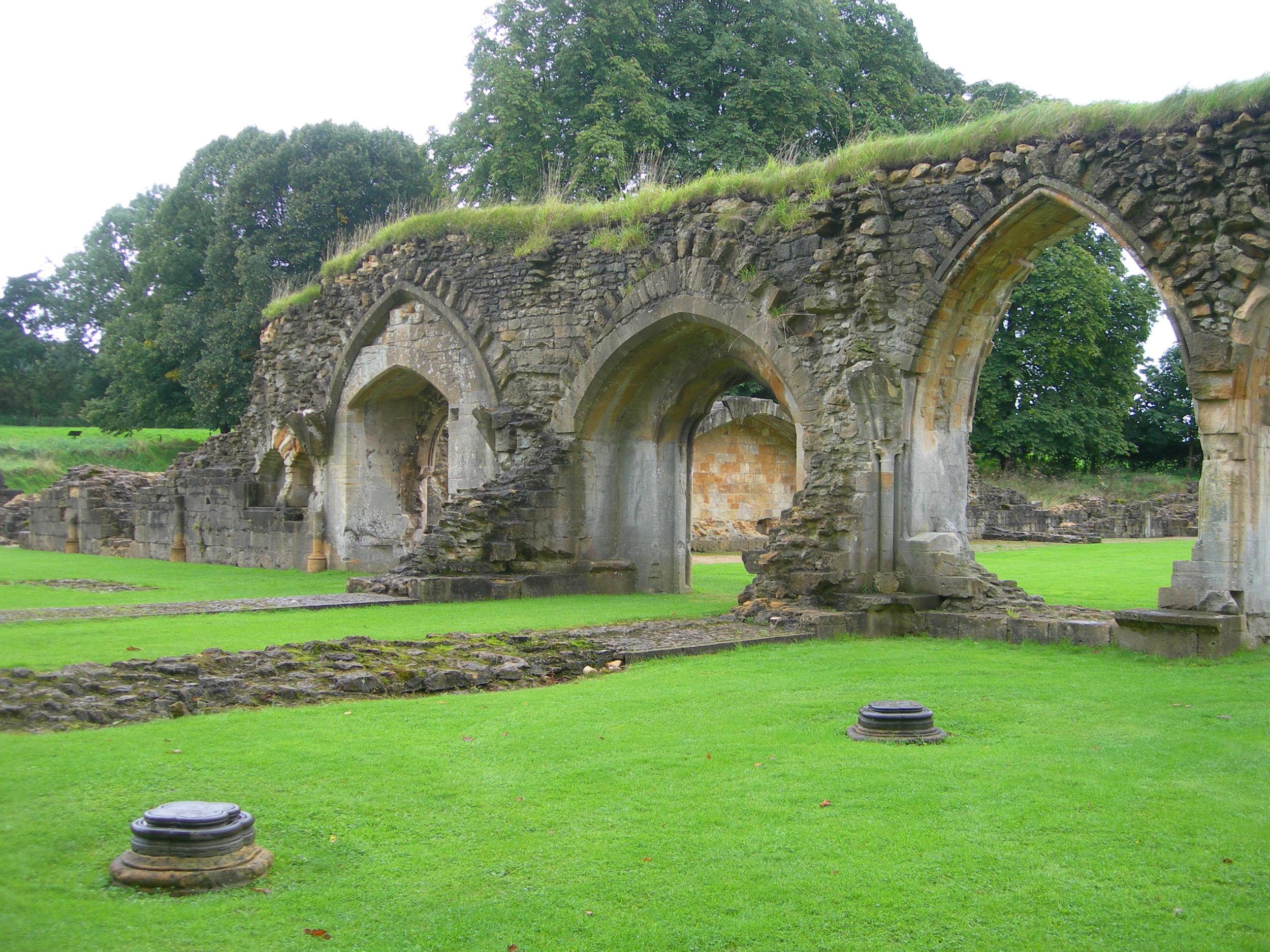 13th century Hailes Abbey, Gloucestershire, England