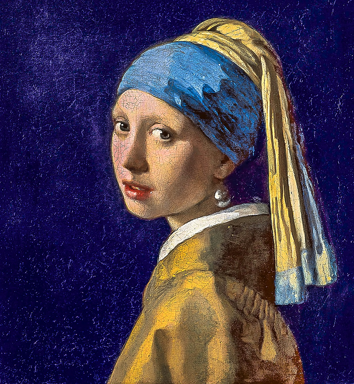 Source: Copy of  Girl with the Pearl Earring  painting by  Robert Waghorn  on  Pixabay