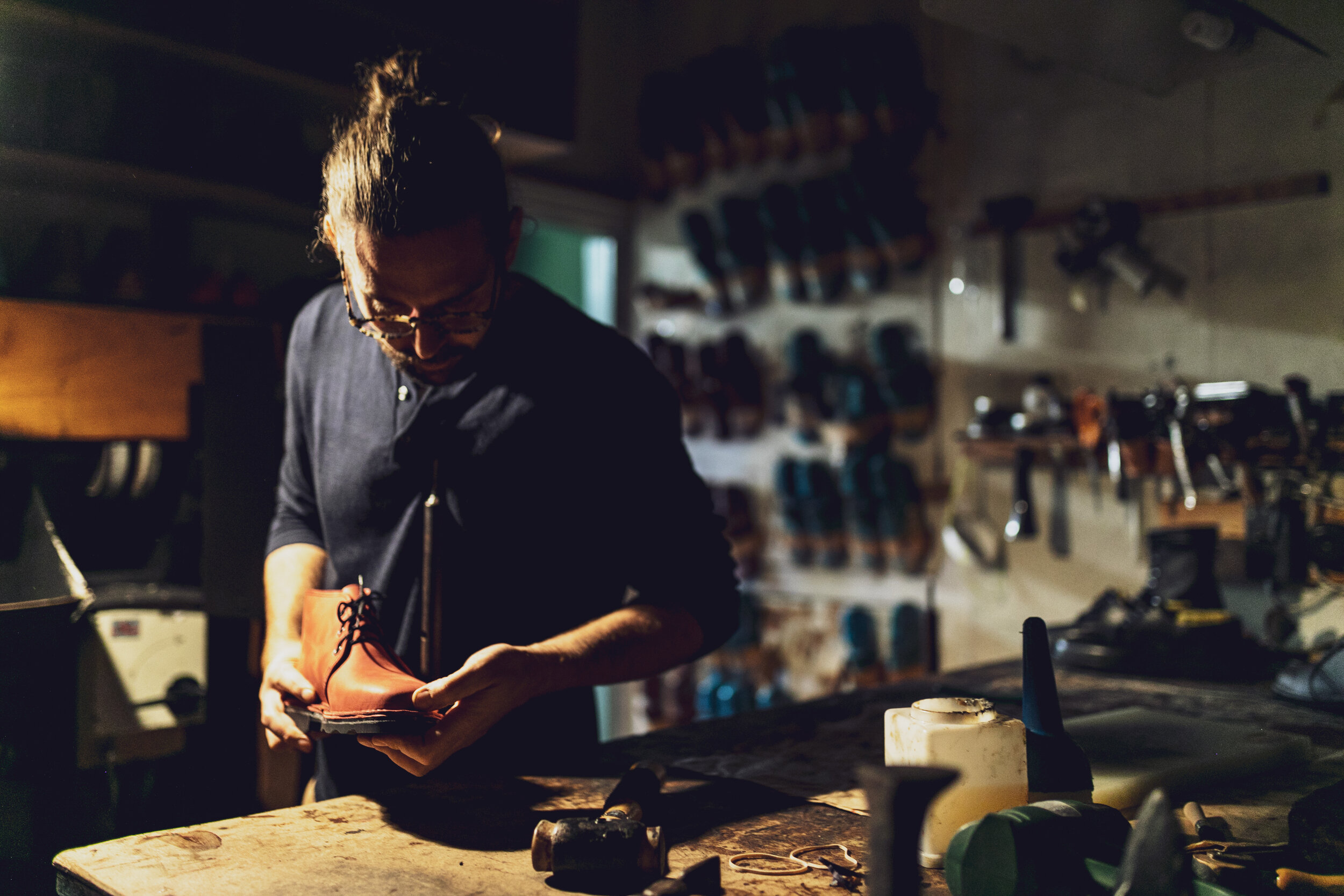 Shoemaker Handmade Shoes England