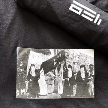 ZOETROPE T-SHIRT (BLACK)