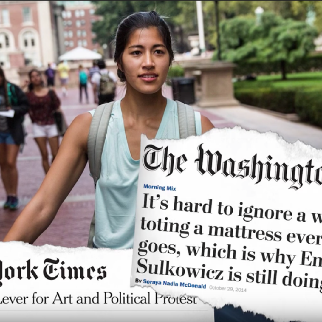 Emma Sulkowicz - Join legendary performance art/activist Emma Sulkowicz (Mattress Performance/Carry That Weight) and Festival Founder Hope Singsen for a conversation about the ways activism and art can be healing.Learn more
