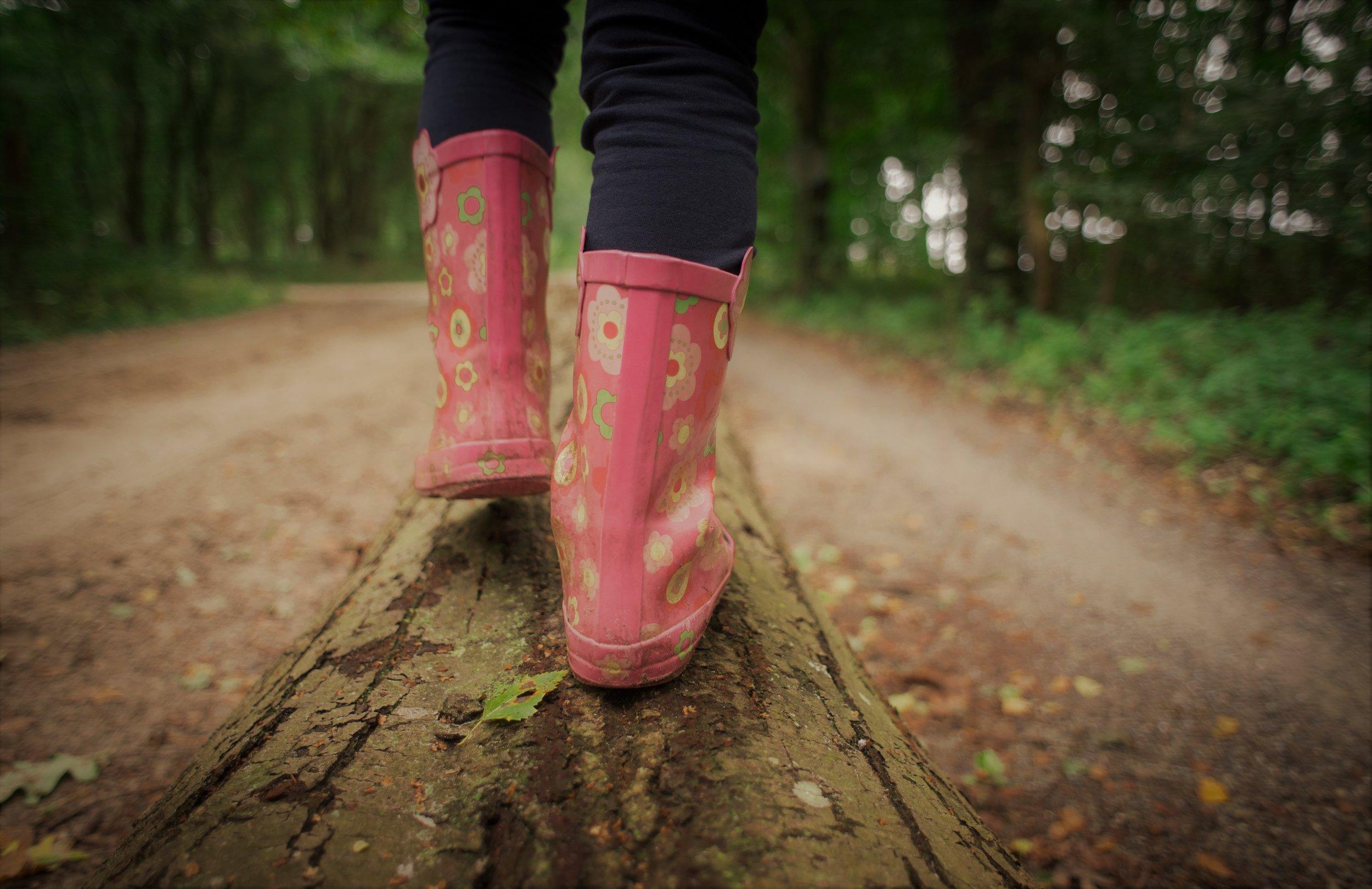 Lernen in und mit der Natur - frei, unbeschwert, neugierig, in Balance
