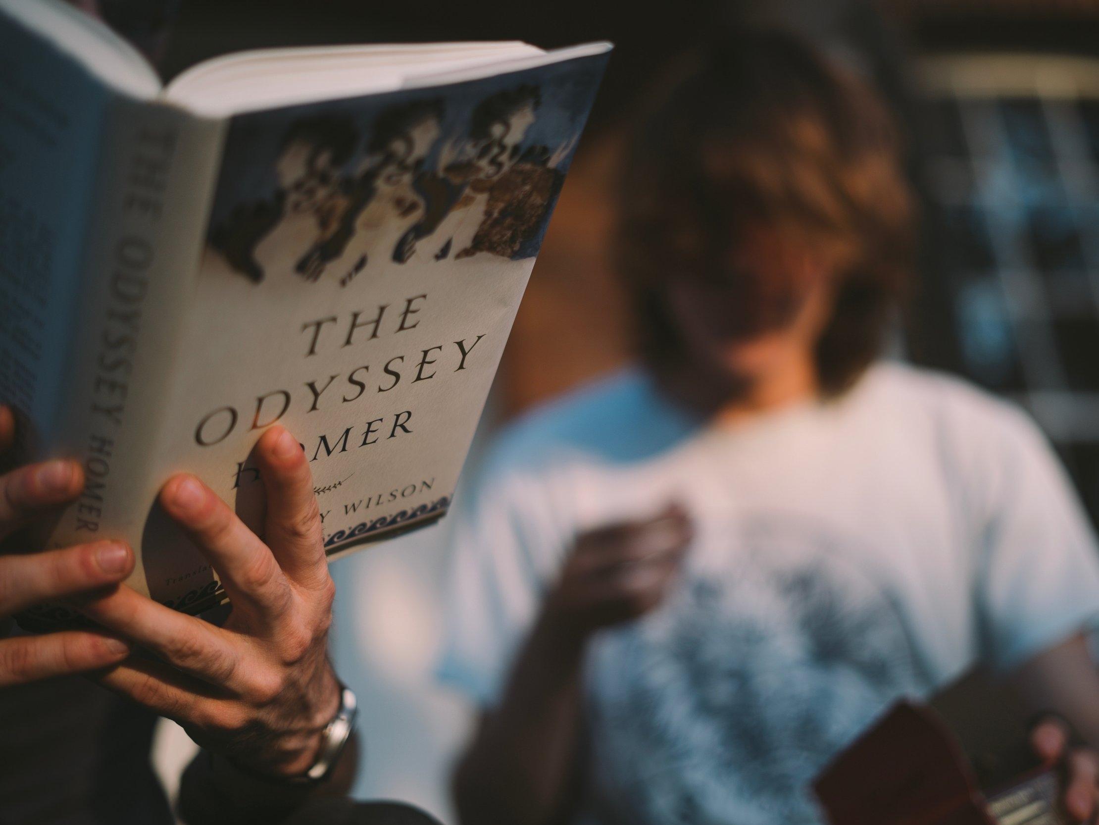 Auch Odysseus brauchte Weggefährten und Helfer auf seiner Reise ....
