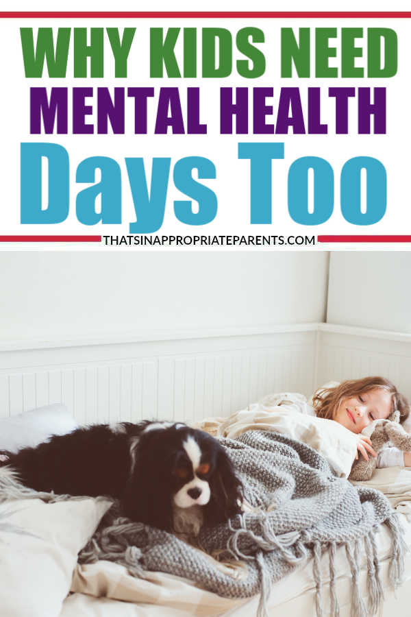 Why I Let My Kids Stay Home from School for Mental Health Days