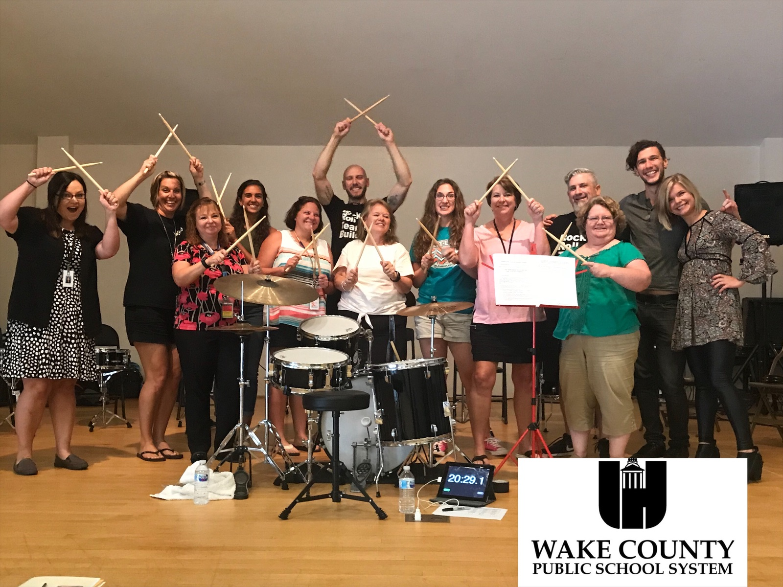 - We love teachers! What a blast rocking out with the Wake County Public School administrators + faculty!www.wcpss.net