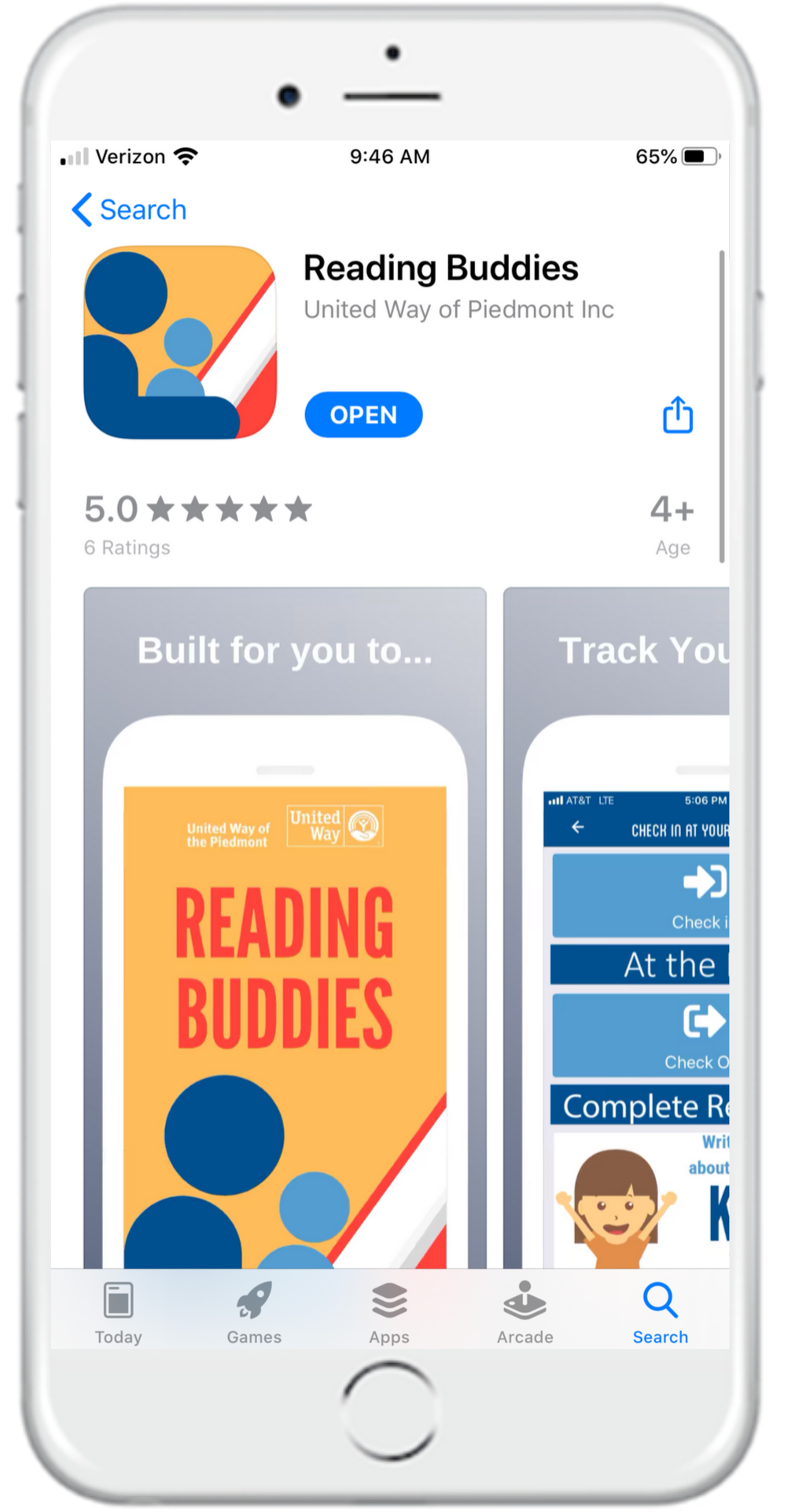 Find Reading Buddies in the app store and download