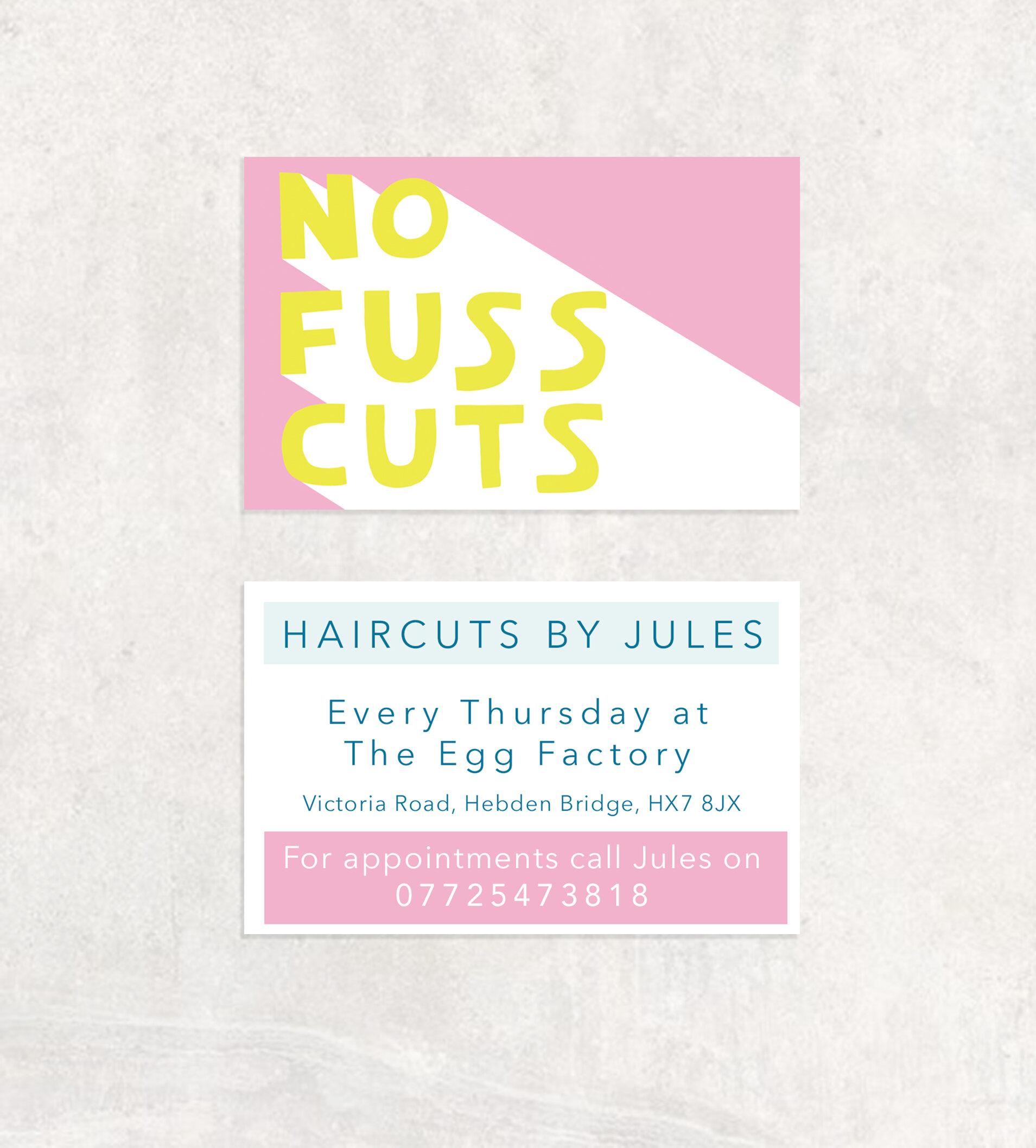 Logo and business card design for Jules Davis