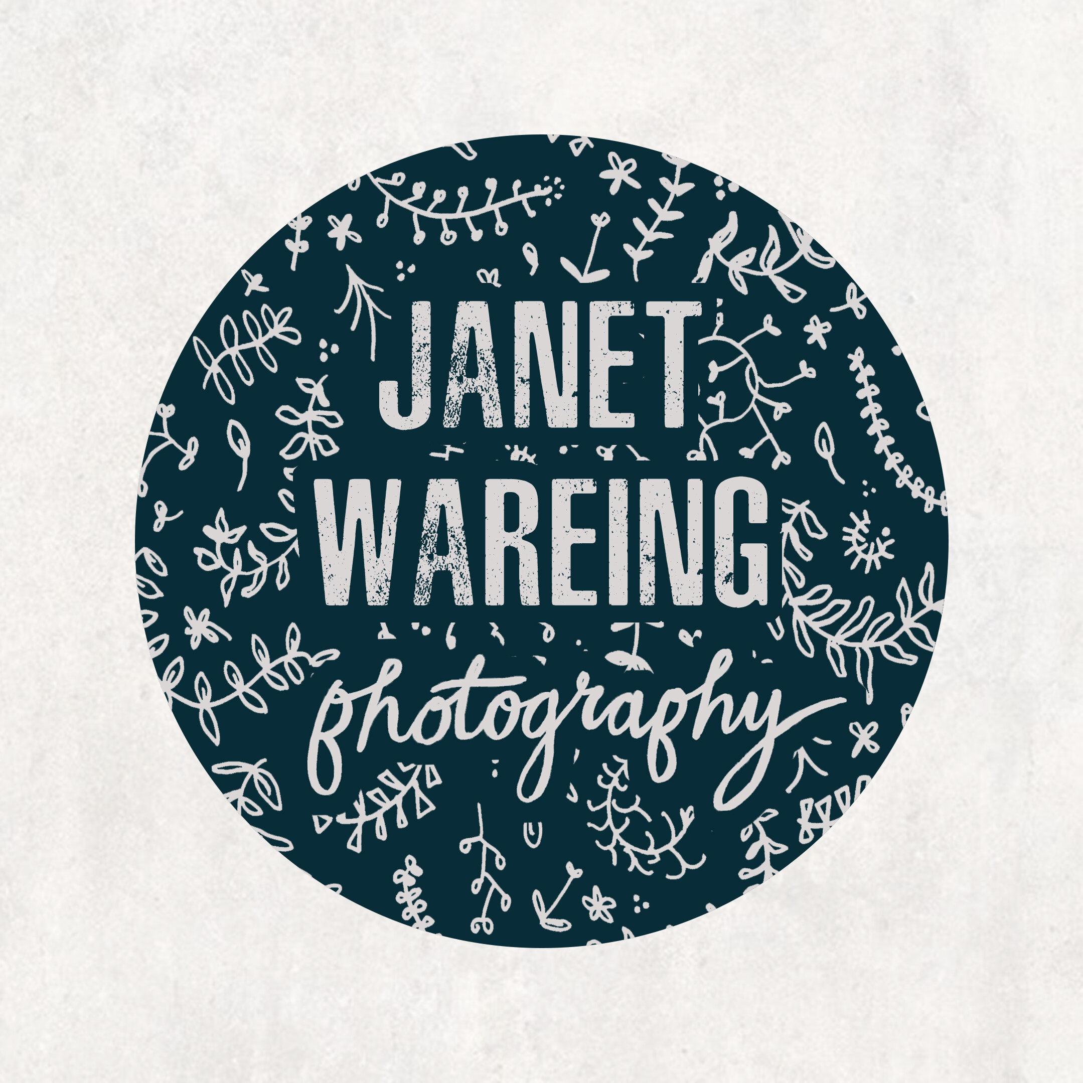 Logo design for Janet Wareing Photography