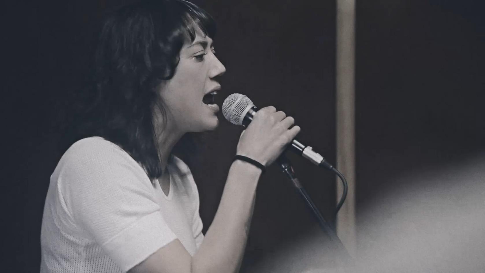 Inge Beckmann singing Mudhoney's 'Touch Me I'm Sick' in their 'Smoke Swig Swear' short film