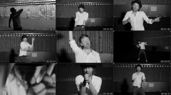 Stills taken from Radiohead's music video for 'Lotus Flower'