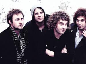 aKING: South African rock royalty, with new member Andrew Davenport (far right)