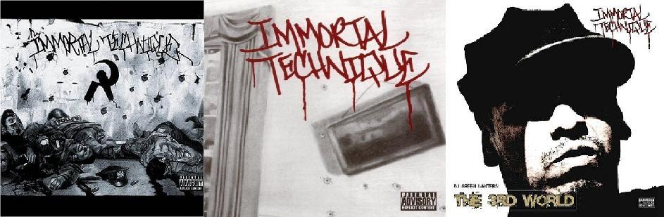 All three Immortal Technique studio albums thus far