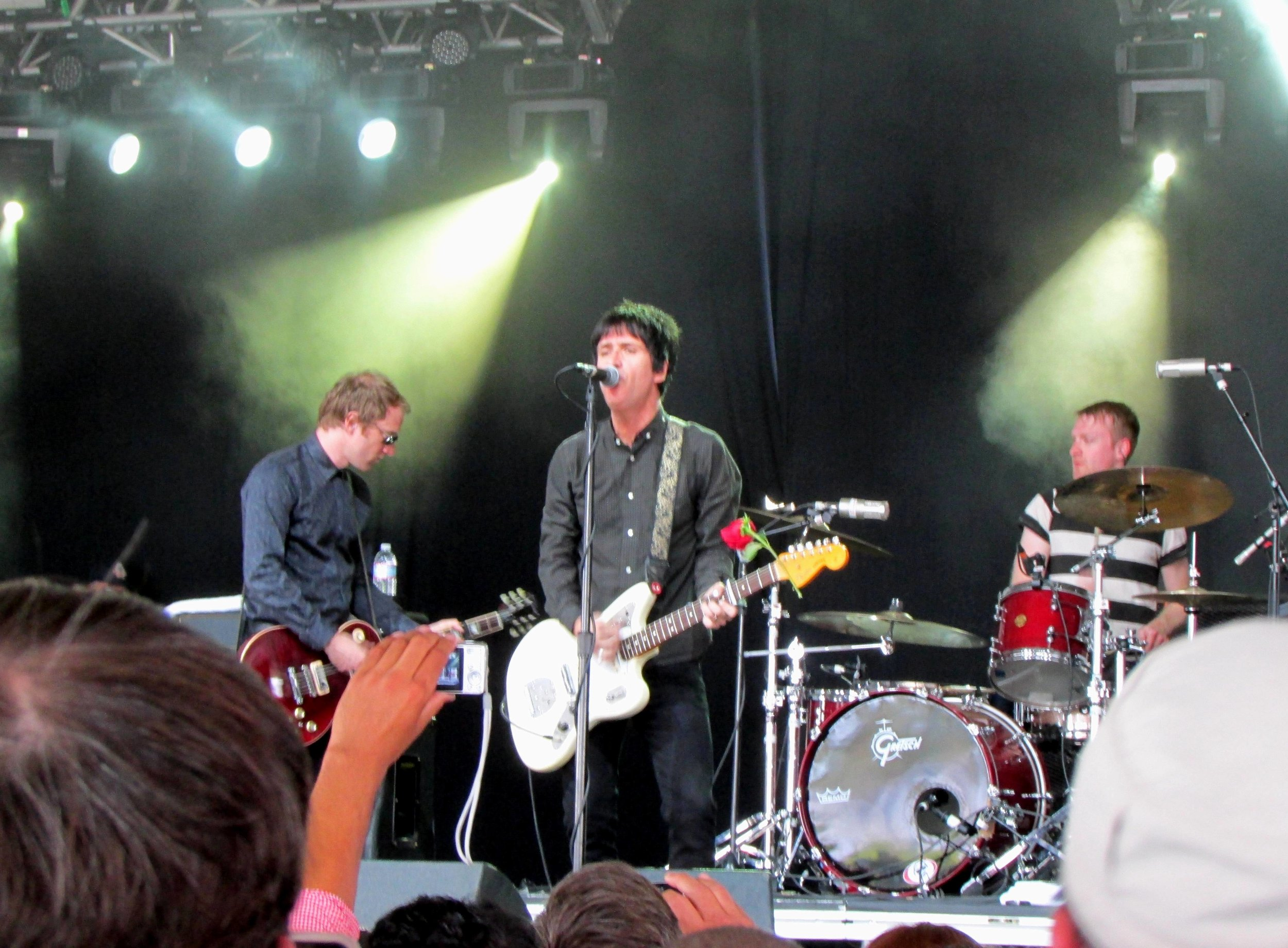 4 - Johnny Marr's set in the Mojave Tent.JPG