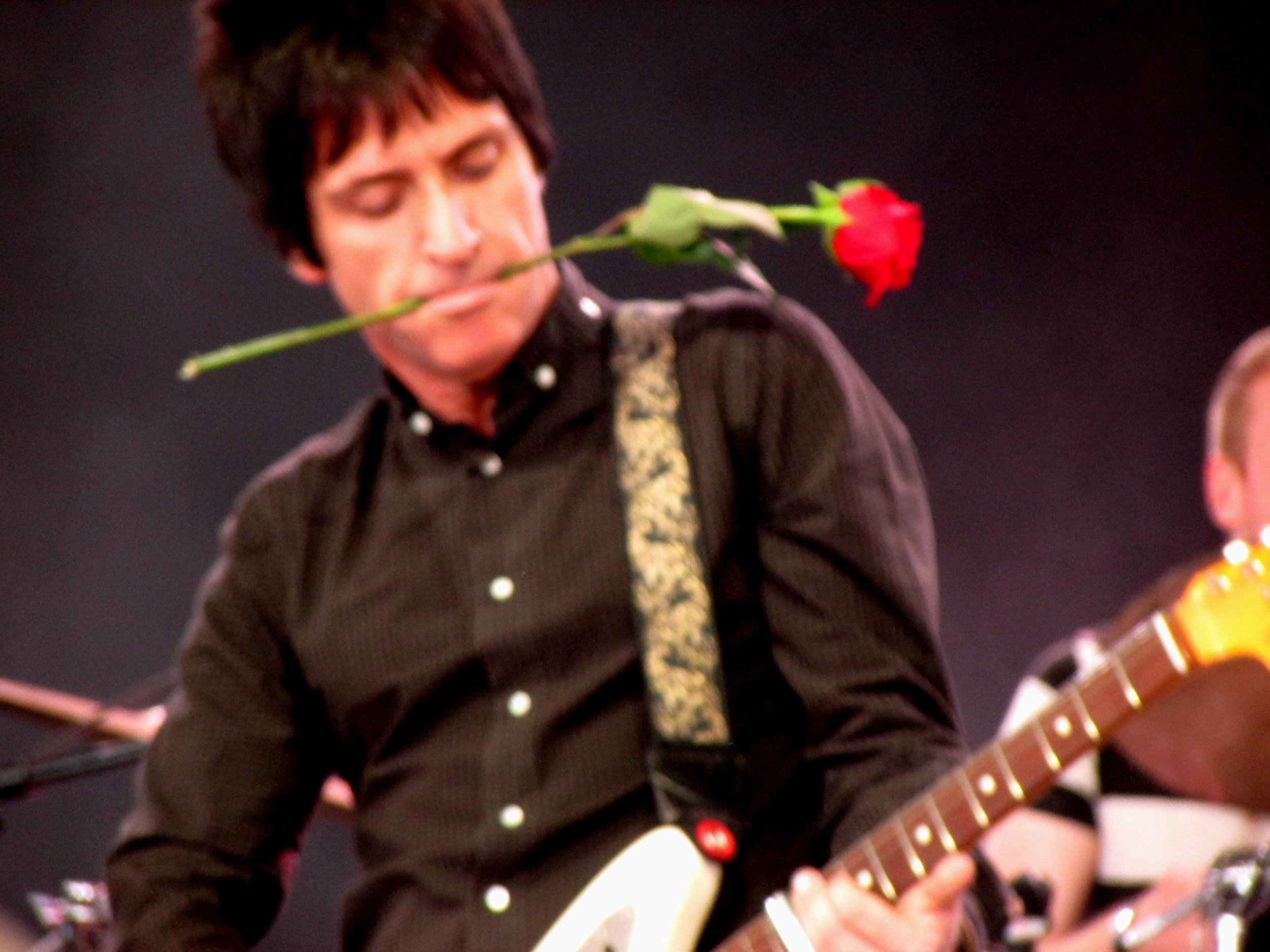 3 - The iconic Johnny Marr.JPG
