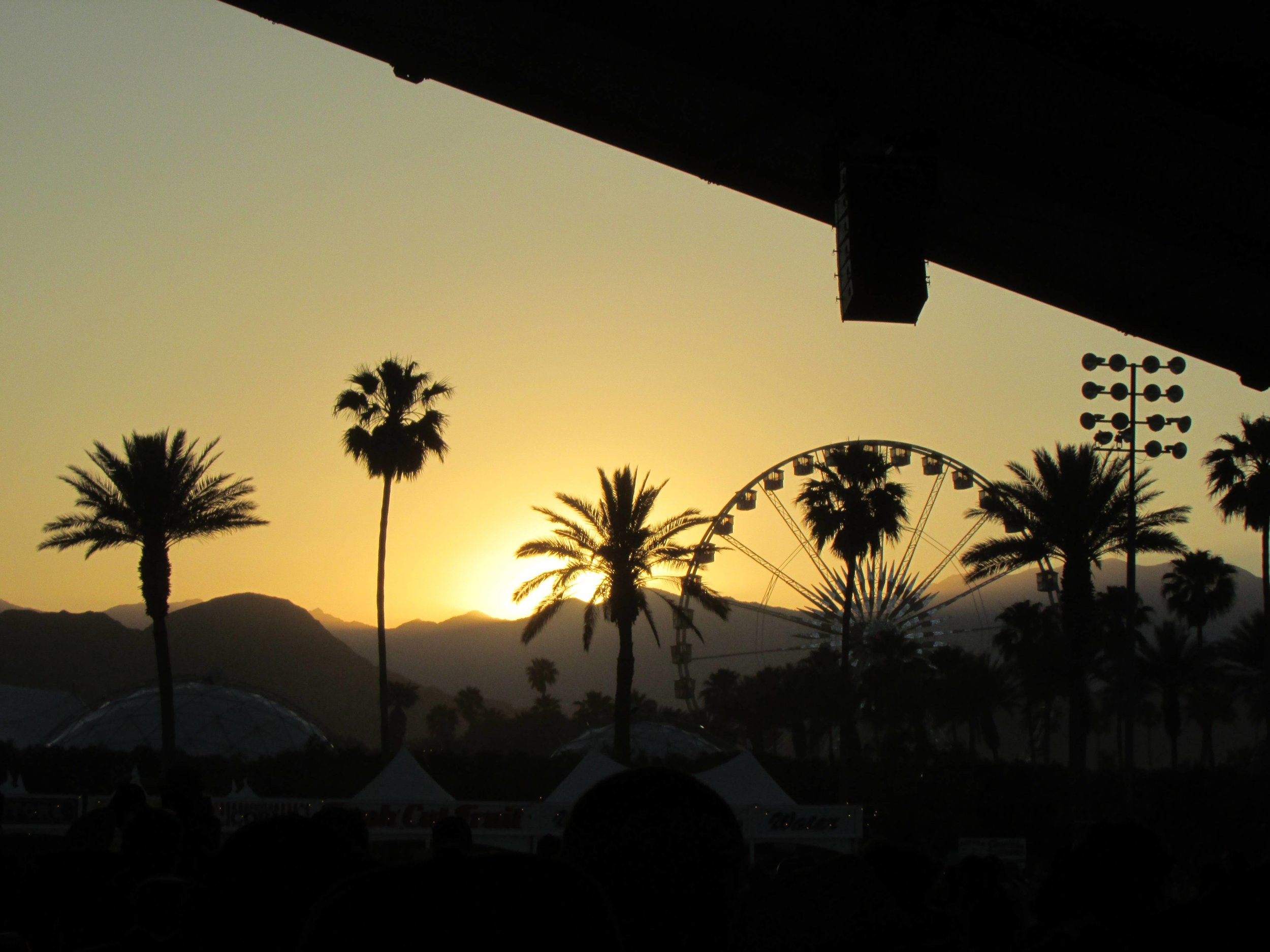 9 - The Coachella skyline over sunset.JPG