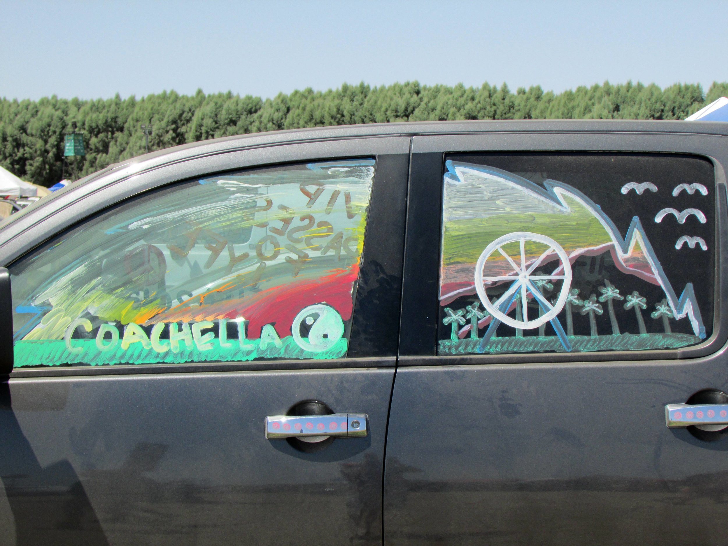 5 - Spotted some entries to Carpoolchella, Coachella's sustainability initiative & ticket lottery.JPG
