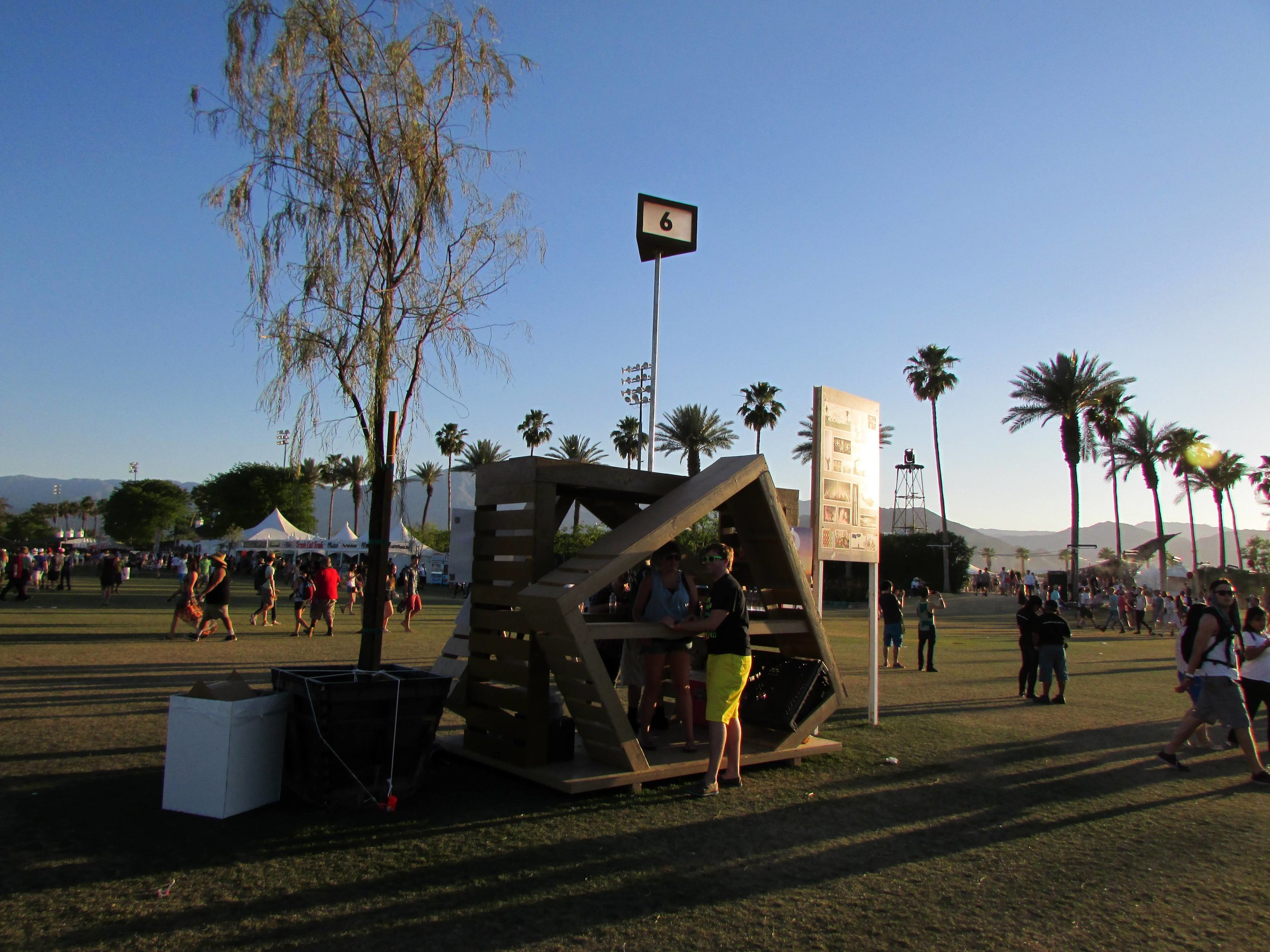 16 - These helpful little information kiosks are scattered all across the festival grounds.JPG