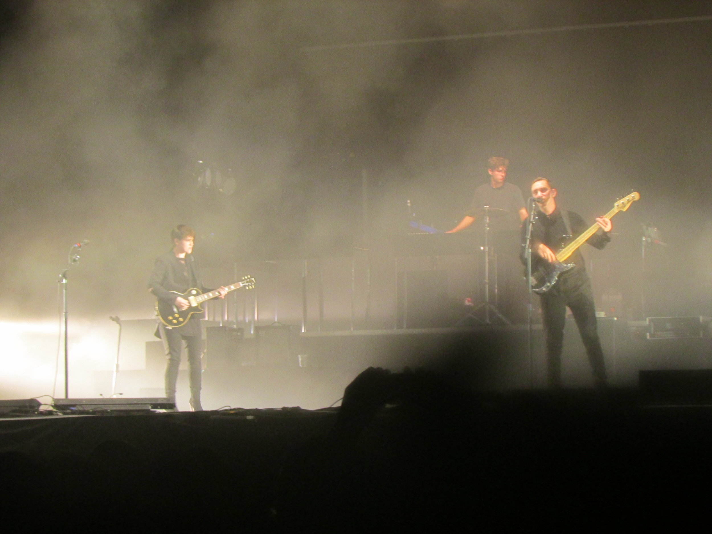8 - The xx bringing their hauntingly beautiful indie pop to the main Coachella Stage.JPG