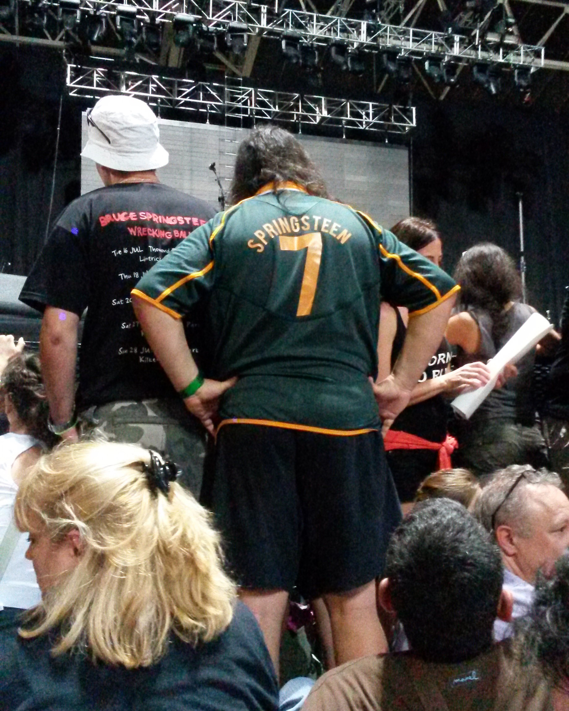 A Proudly Springsteen, I mean, South African supporter