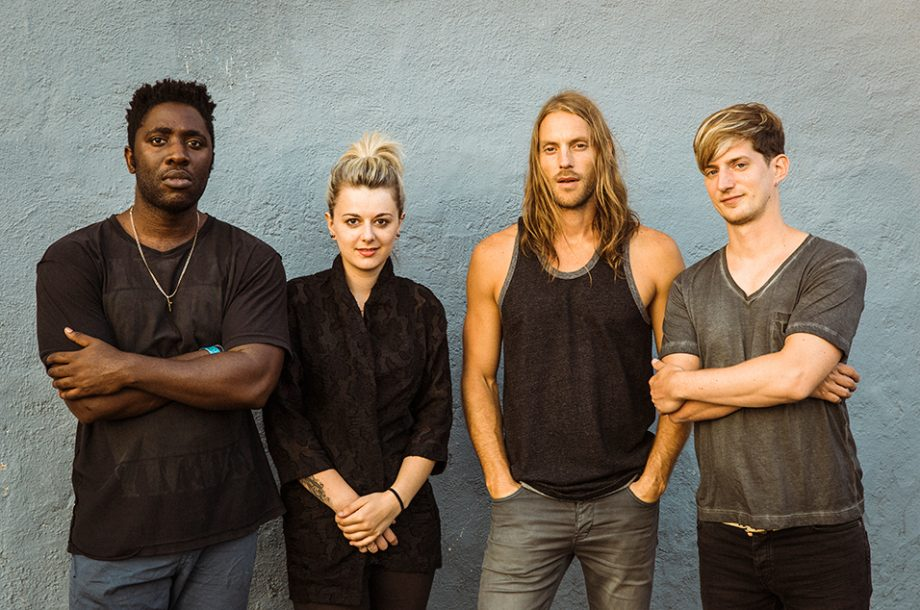 Bloc Party, Mark II. The current line up as of the  Silent Alarm  2018 Tour.