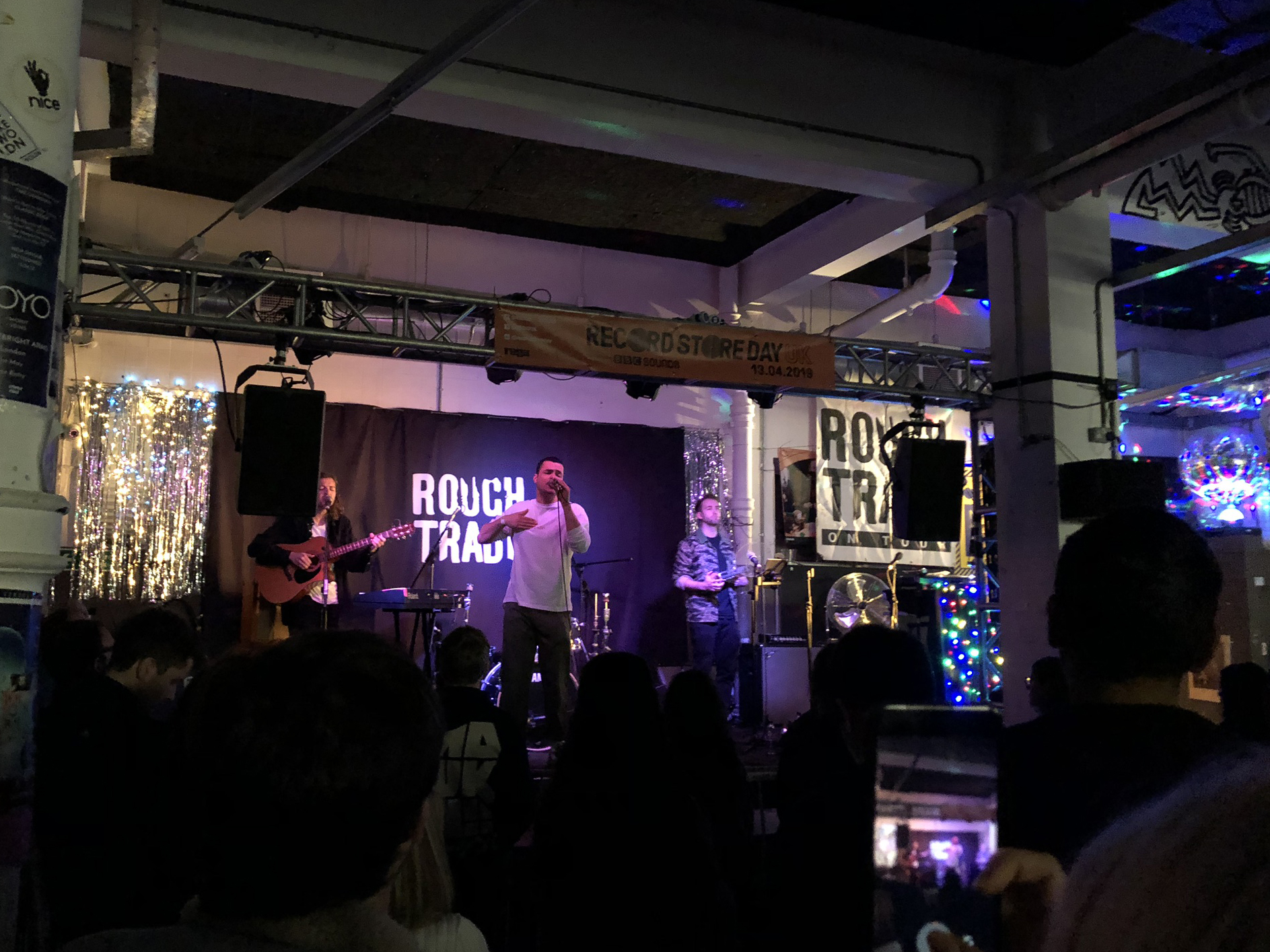 Ady Suleiman, performing live at Rough Trade East on Record Store Day 2019