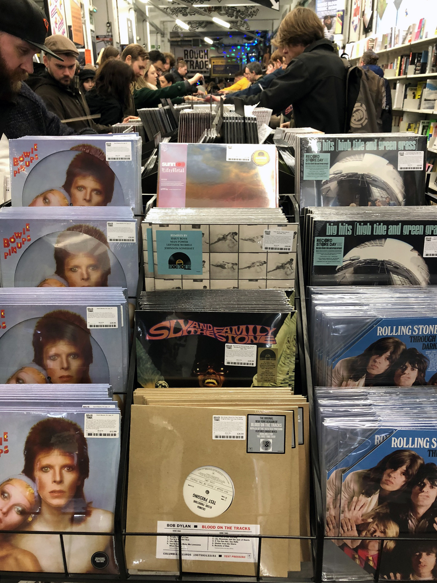 Record Store Day 2019 Releases inside Rough Trade East, Shoreditch, London, UK.JPEG