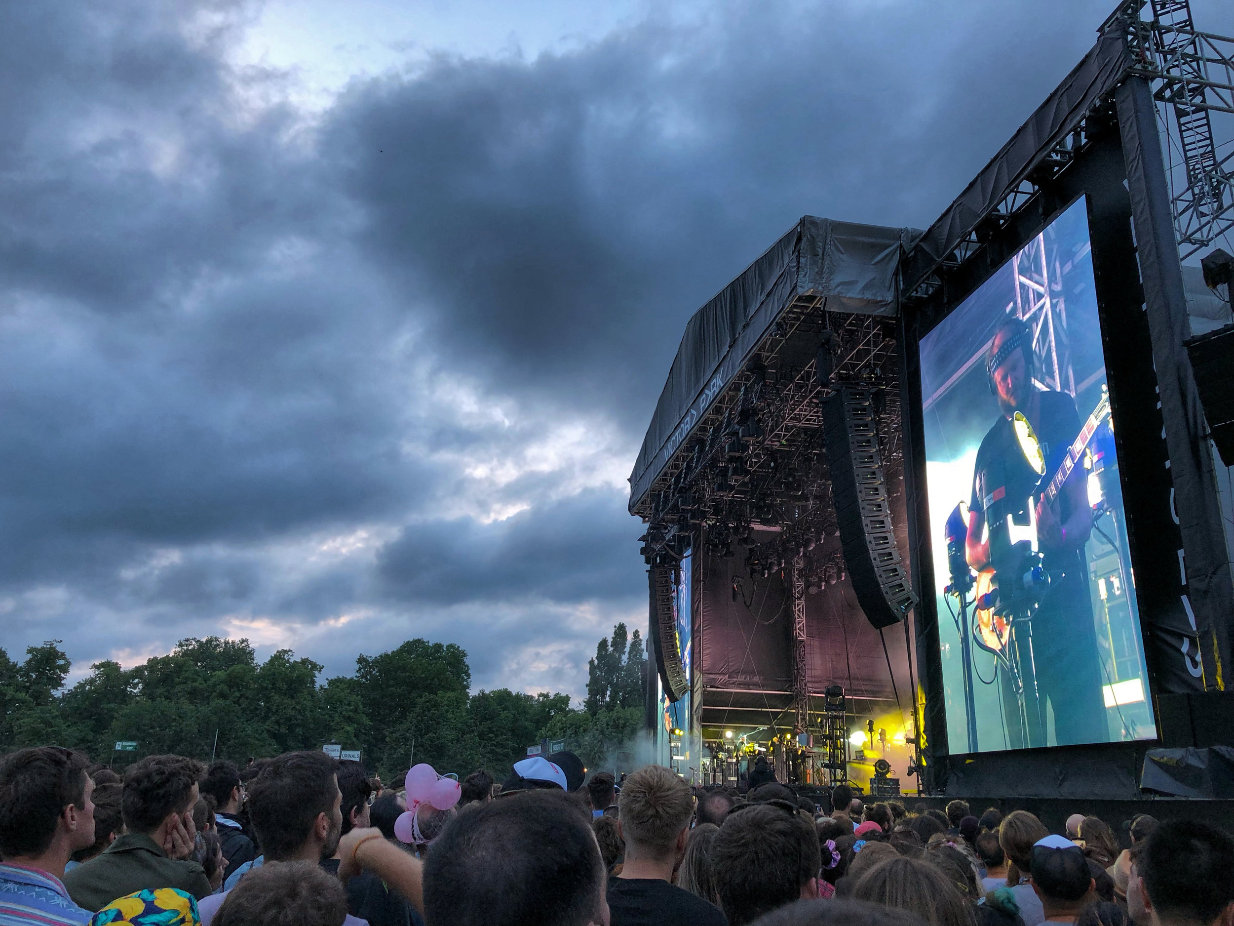 Bon Iver headlining the second Sunday at All Points East 2019