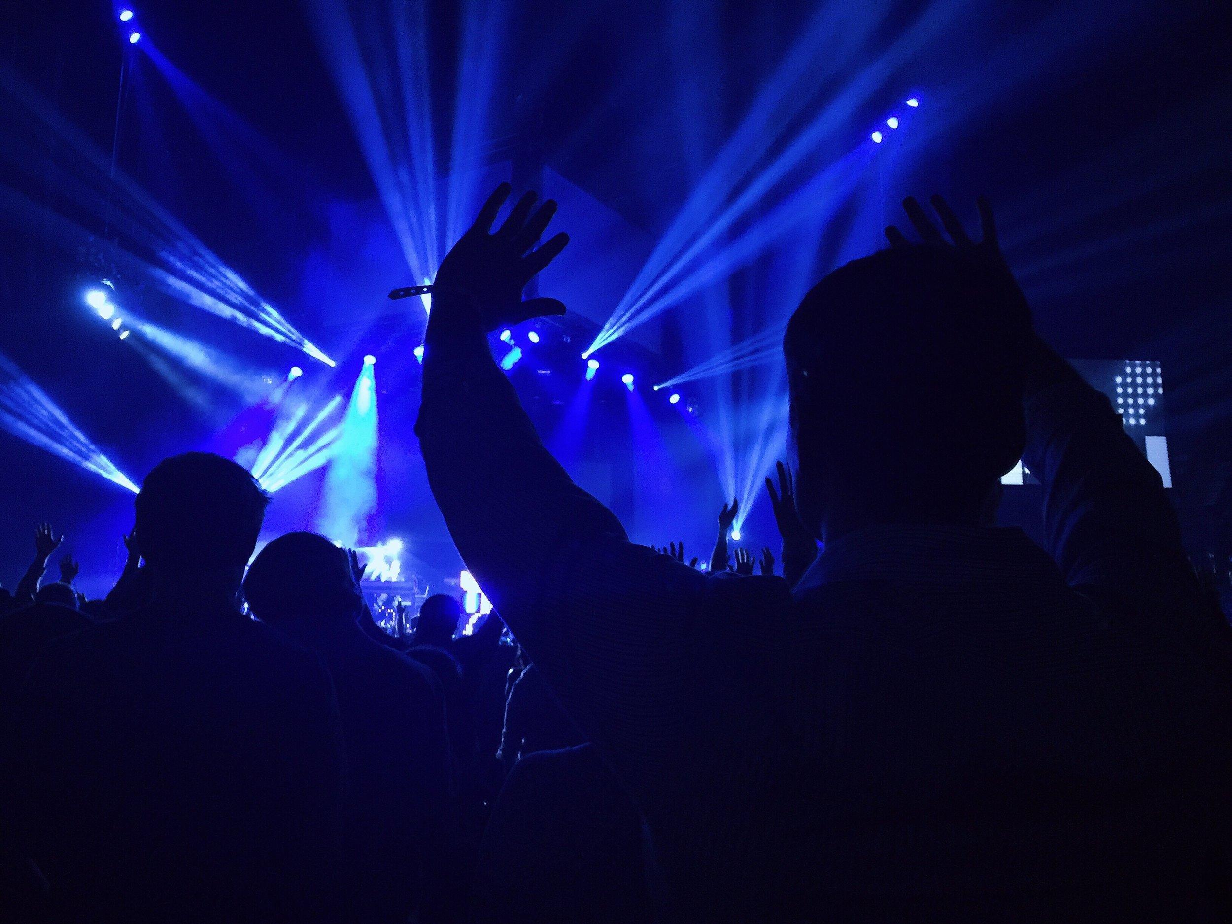 all-night DANCING -