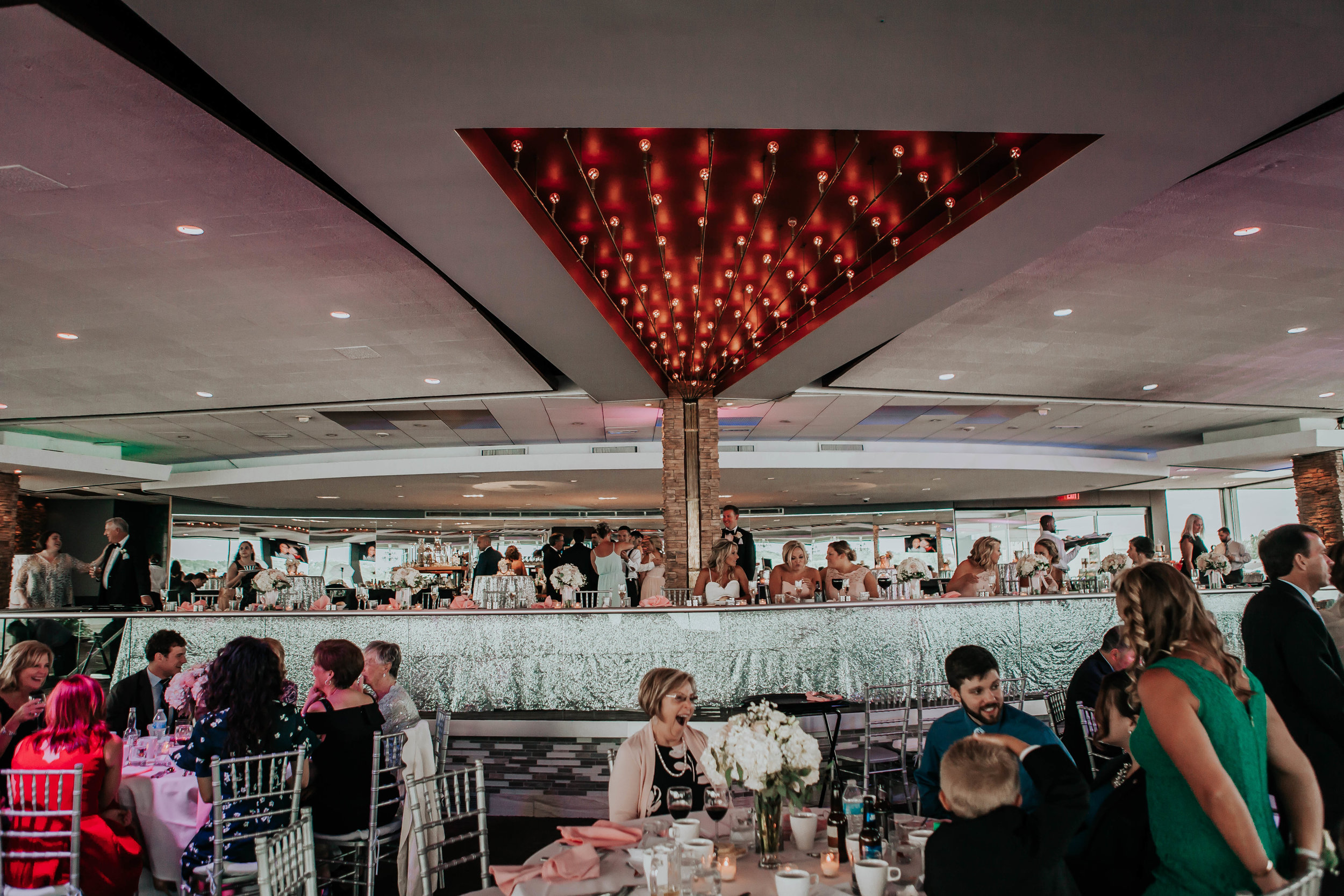 capacity - With the capability to entertain 100-500 guests for a full-service dinner, The Marine Room boasts the perfect atmosphere to entertain guests with live music and entertainment.