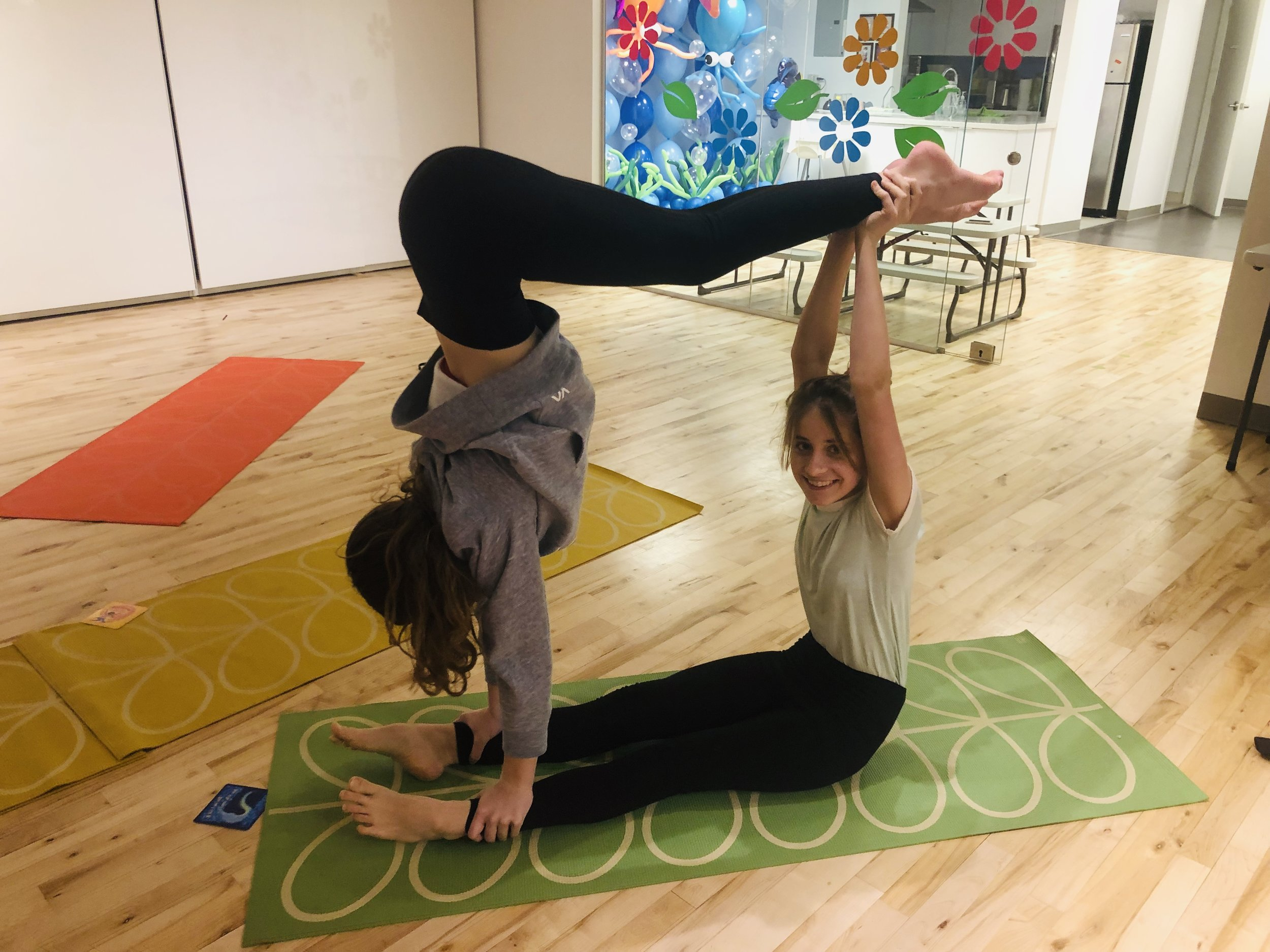 Kids Acroyoga Hi Five For Life